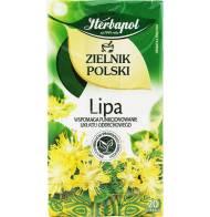 Herbata Ziołowa - Lipa 20 Torebek Herbapol 30g