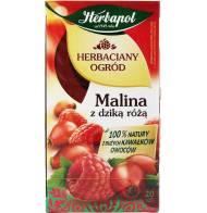 Herbaciany Ogród - Malina Z Dziką Różą 54g Herbapol