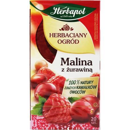 Herbaciany Ogród - Malina Z Żurawiną 54g Herbapol
