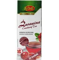 Herbata Ekspresowa Żurawina 20 Torebek Edal