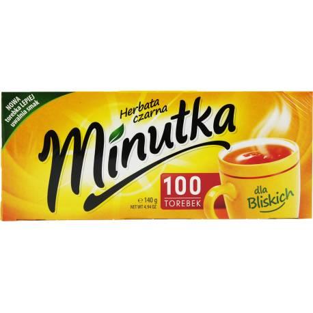 Herbata Czarna 100 Torebek Minutka