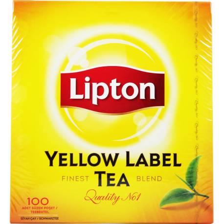 Herbata Czarna 100 Torebek Lipton