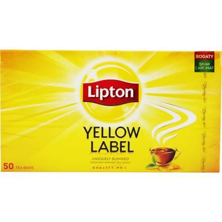 Herbata Czarna 50 Torebek Lipton