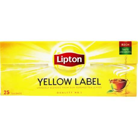 Herbata Czarna 25 Torebek Lipton