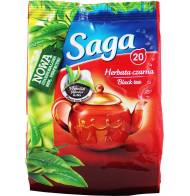 Herbata Czarna Ekspresowa 20 Torebek Saga