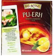 Herbata Pu-Erh 40 torebek Big Active