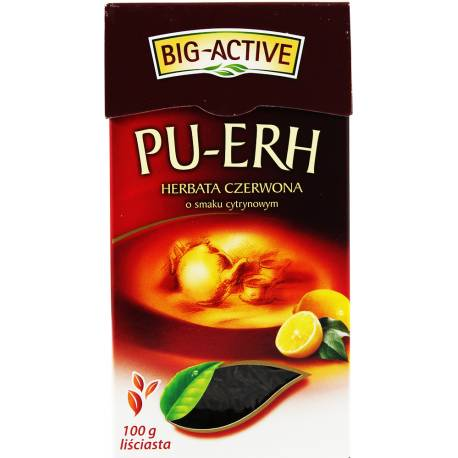 Herbata Pu-Erh 100g Big Active