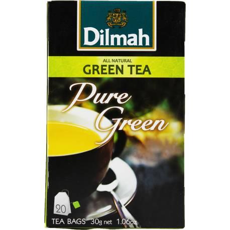 "Dilmah ""Pure Green"" Czysta Zielona Herbata 30g"