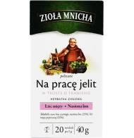 """Herbata Ziołowa """"Na pracę jelit"""" 40g Zioła Mnicha"""