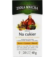 """Herbata Ziołowa """"Na cukier"""" 40g Zioła Mnicha"""
