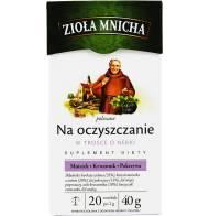 """Herbata Ziołowa """"Na oczyszczanie"""" 40g Zioła Mnicha"""