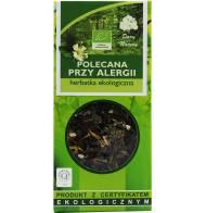 Herbata Ekologiczna 50g Dary Natury Polecana Przy Alergii