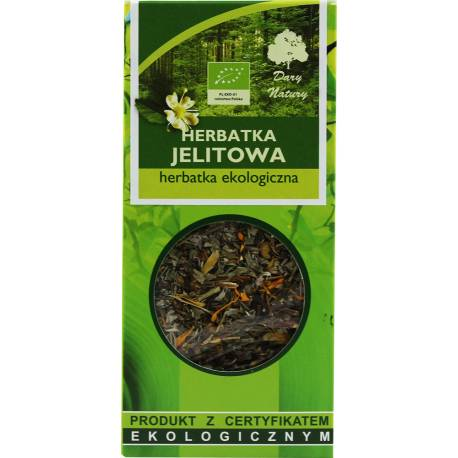 Herbata Ekologiczna 50g Dary Natury Herbatka Jelitowa