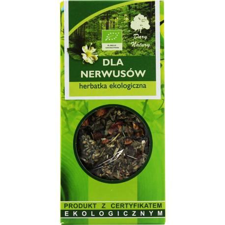 Herbata Ekologiczna 50g Dary Natury Dla Nerwusów