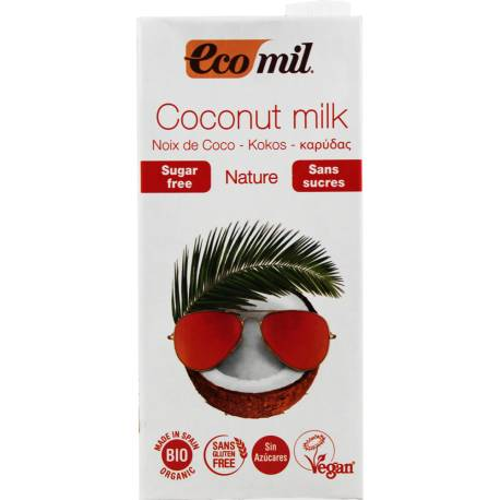 Mleko Kokosowe 1l EcoMil
