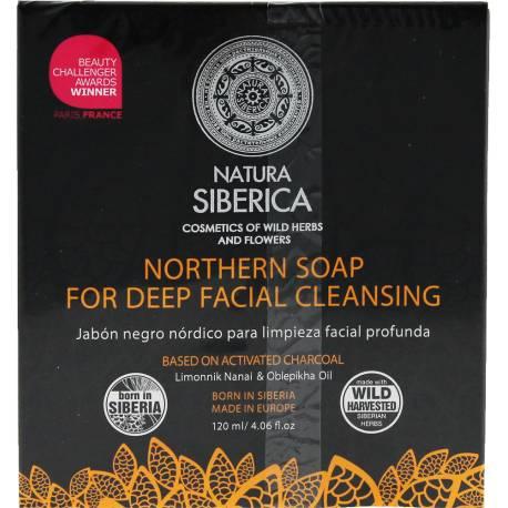 Północne mydło do głębokiego oczyszczania twarzy 120ml Natura Siberica