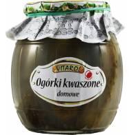 Ogórki Kwaszone Domowe Pasteryzowane 750g Vitarol