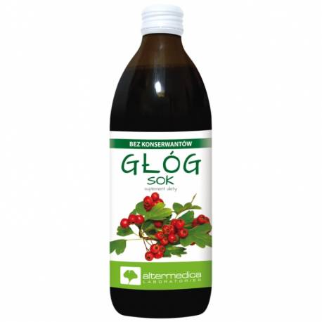 Głóg Sok 500ml Altermedica