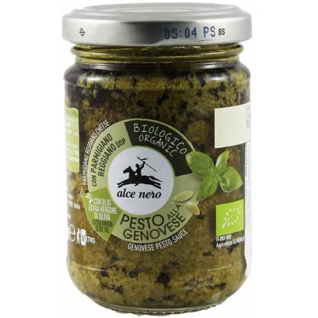 Pesto Genovese (Sos bazyliowy) Bio 130g