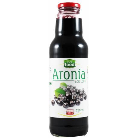 Aronia Sok 100% 750ml LookFood