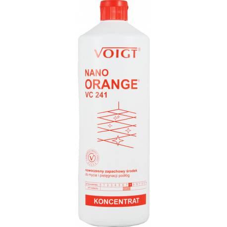 Zapachowy Środek Do Mycia i Pielęgnacji Podłóg Nano Orange Vc 241 1L voigt
