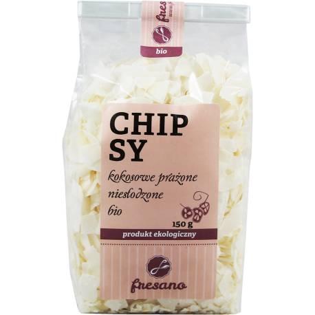 Chipsy Kokosowe Prażone Niesłodzone Bio 150g Fresano
