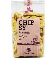 Chipsy Bananowe Słodzone Bio 150g Fresano