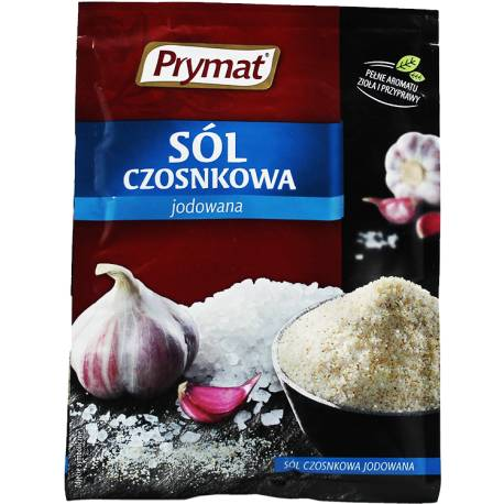 Sól Czosnkowa Jodowana 40g Prymat