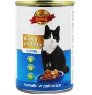 Karma dla kota z rybą 415g Animals MK