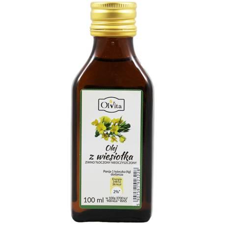 Olej z wiesiołka zimno tłoczony nieoczyszczony 100ml OlVita