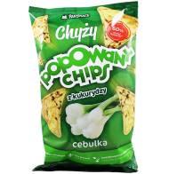 Popowane Chipsy kukurydziane z cebulą 110g PanSnack