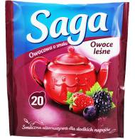 Herbata Saga Owocowa Owoce Leśne 20 torebek
