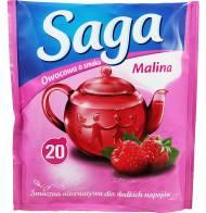 Herbata Saga Owocowa Malina 20 torebek