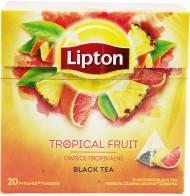 Herbata Lipton Owoce Tropikalne 20 torebek piramidek