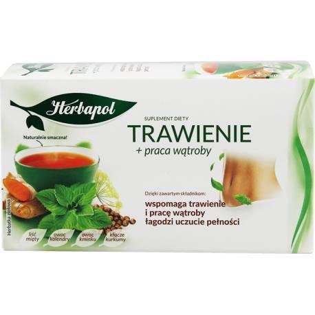 Herbatka Trawienie + praca wątroby 40g Herbapol