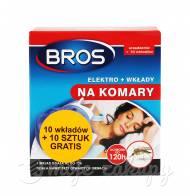 Bros Elektro + wkłady na komary