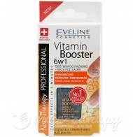 6w1 Odżywka do Paznokci Baza Vitamin Booster 12ml Eveline