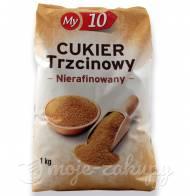 Cukier Trzcinowy nierafinowany My10 1kg