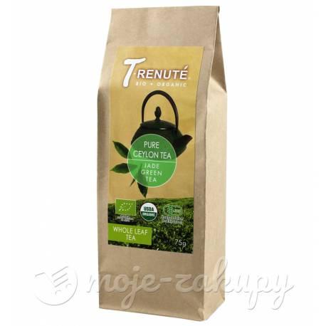 Herbata zielona Pure Ceylon Tea liściasta bio 75g Trenute