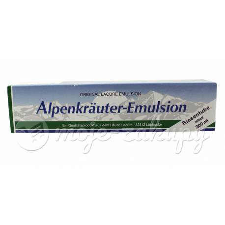 Alpenkrauter Emulsion - Zioła alpejskie Przeciwbólowa MAŚĆ ALPEJSKA 200ml