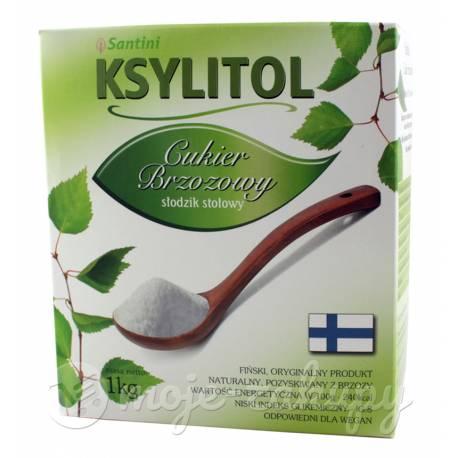 Ksylitol Cukier Brzozowy Słodzik Stołowy 1kg Santini