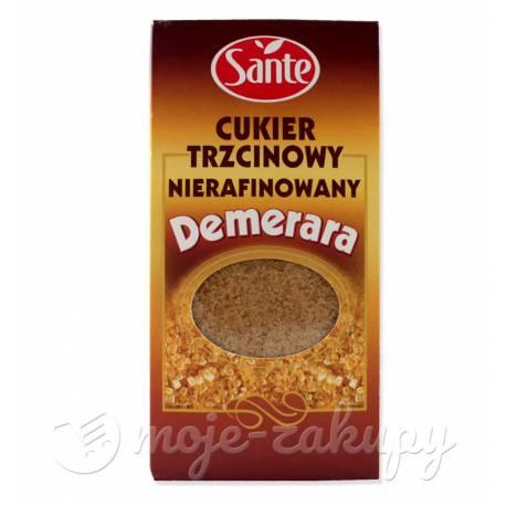 Cukier Trzcinowy Nierafinowany Demerara 500g Sante