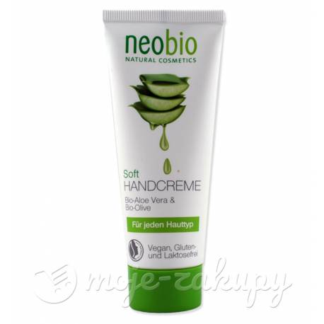 Krem do rąk aloes i oliwa EKO Neobio 75ml