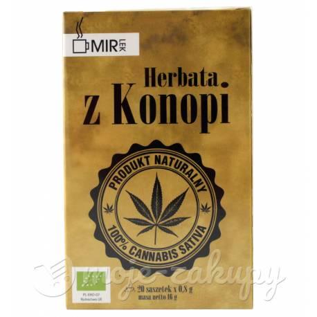 Ekologiczna Herbata z konopi siewnej 16g Mir-Lek