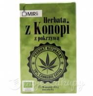 Ekologiczna Herbata z konopi siewnej z pokrzywą 16g Mir-Lek