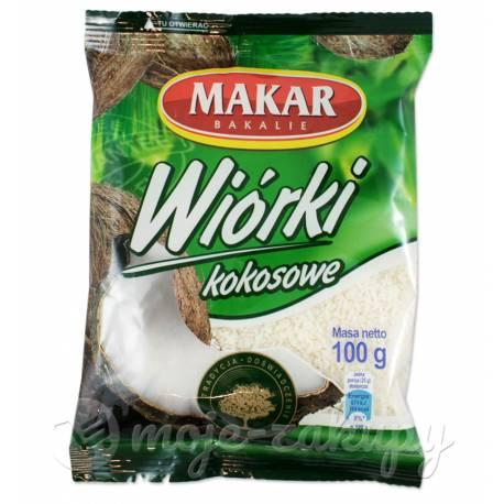 Wiórki kokosowe 100g Makar