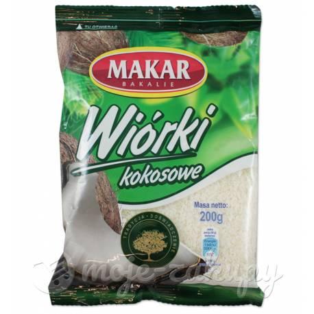 Wiórki kokosowe 200g Makar