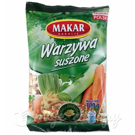 Warzywa suszone 100g Makar