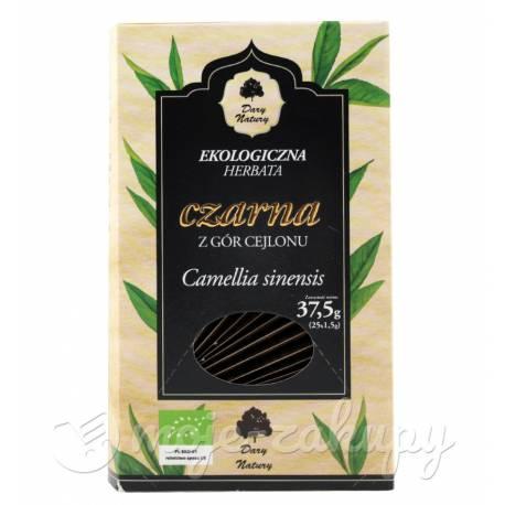 Herbata czarna Cejlońska 25x1,5g Dary Natury