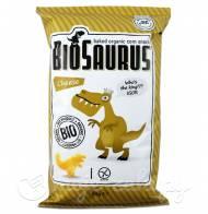Ekologiczne chrupki kukurydziane Biosaurus serowe LLoyd's